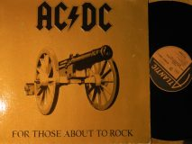 AC/DC / For Those About To Rock… / 1981
