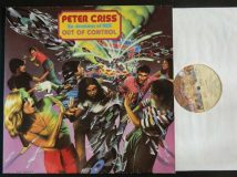 Kiss — Peter Criss / Out Of Control / 1980 RARE!