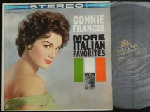 Francis Connie / More Italian Favorites / 1960