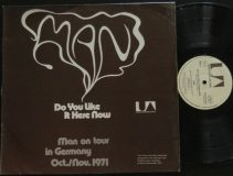 Man / Do You Like It Here Now / 1971 RARE TOUR EDITION