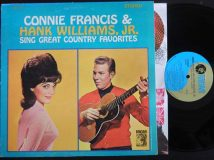 Francis Connie — Williams Jr. Hank / Sing Great Country Favorites / 1964  (*)