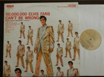 Presley Elvis / 50.000.000 Elvis Fans Can't Be Wrong / 1959  (*)