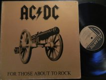 AC/DC / For Those About To Rock / 1981