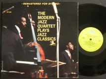 Modern Jazz Quartet / Plays Jazz Classics / 1966 RARE!