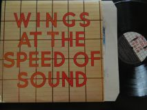 McCartney Paul — Wings / At The Speed Of Sound / 1976 UK